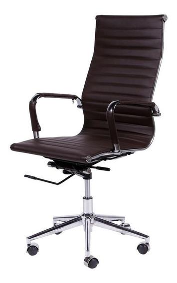 Cadeira Office Eames Esteirinha Alta Giratória Ca Or Design