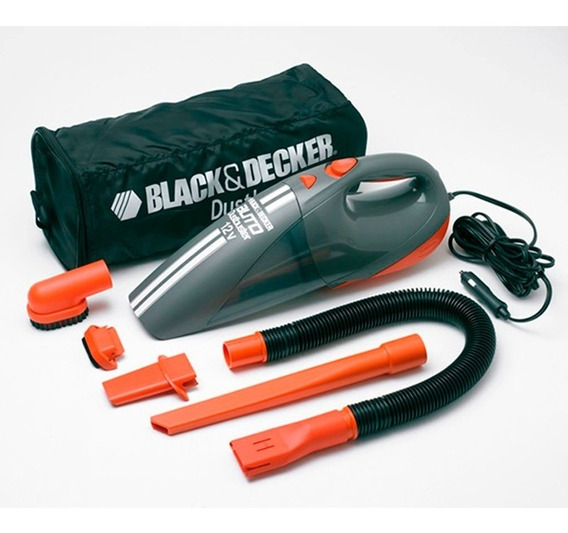 Aspiradora Auto 12v Av1500 Black Decker Portatil+5accesorios