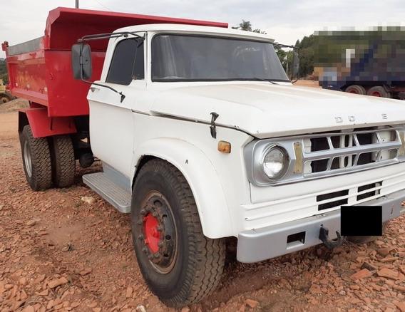 Dodge D-7000 - 83/83 - Toco, Caçamba, Tudo Bom, Trabalhando