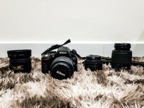 Câmera Nikon D5100 + Lentes (metade Do Preço!)