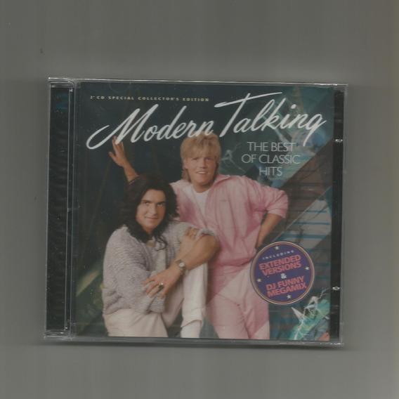 Cd Modern Talking - The Best Of Hits (02 Cds) (novo/lacrado