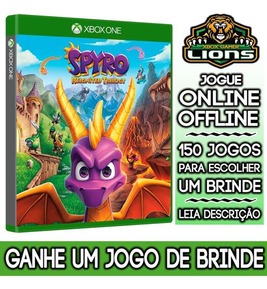 Spyro Reignited Trilogy Xbox One + Brinde