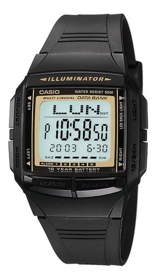 Relógio Casio Vintage Masculino Digital Db-36-9avdf