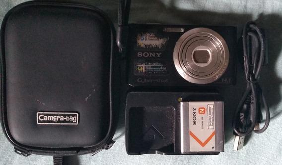 Câmera Digital Sony Cyber Shot W610 14.1 Mp