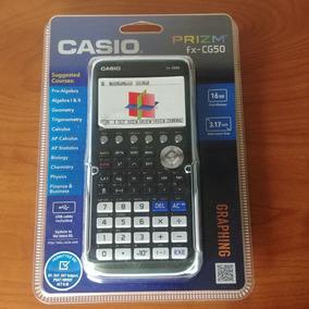 Casio Fx-cg50 Prizm 3-d, Calculadora Gráfica En...