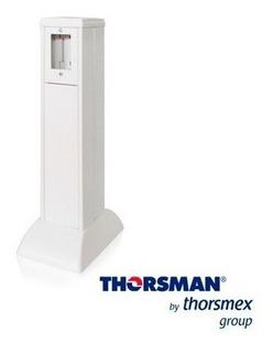 Mini Columna Para Piso Thorsman 10000-01000 Bco