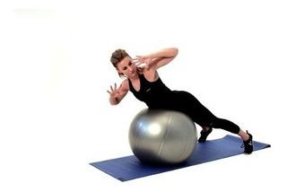 Pelota Grande 85 Cm + Inflador Pilates Terapia Embarazo