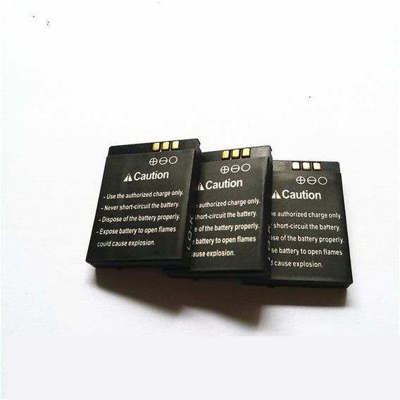 Kit 1 Pulseira 1 Bateria De Relógio Celular Dz09 Fret Gratis