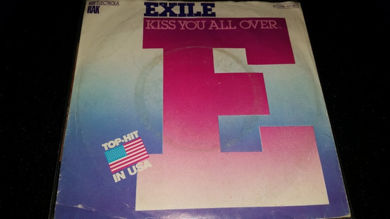 Exile Kiss You All Over Simple Vinilo Germany Excelente 1978