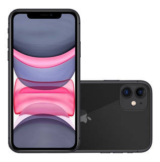 iPhone 11 Apple Com 128 Gb Tela Retina Hd De 6,1 Ios 13