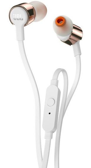 Fone De Ouvido Jbl T210 Com Microfone 100% Original