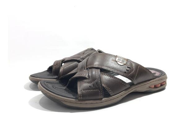 Pegada 131907 Chinela Cuero Cómoda El Mercado De Zapatos!!