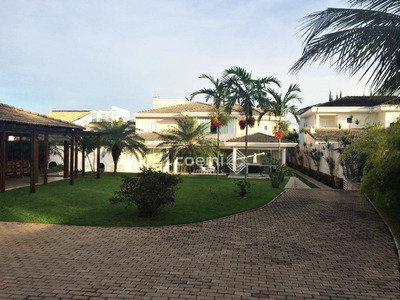 Casa Residencial À Venda, Lago Norte, Brasília, Shin Ql 16, C/ Vista Para O Lago - Ca0428