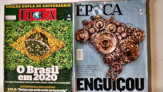 Revista Época Globo 5 Unidades