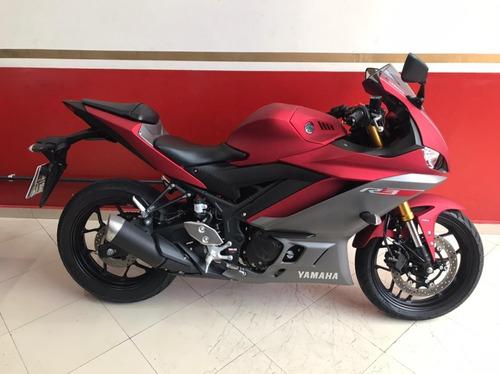 Yamaha Yzf R-3 Abs 2020 Vermelha