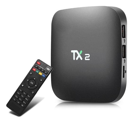 Aparelho Tv Box 4k Tx2 Transforma Em Smart Tv Android