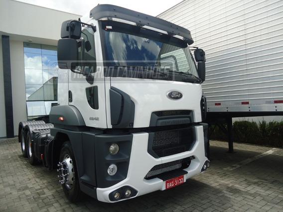 Ford Cargo 2842 2014 322.000km Completo Com Ar