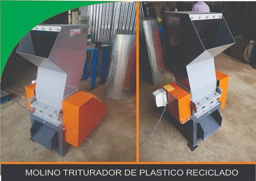 Molino Para Plastico (pet, Pvc, Pp, Pe)