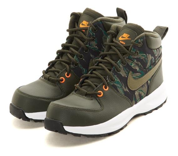Nike Manoa Print (gs) Big Kids Del22.5al25 Av3570-300 Facturamos