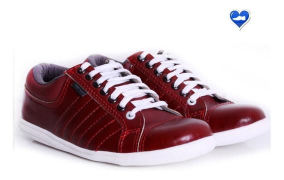 Zapatillas Casual Hombre Cuero Modelo Lionel De Shoes Bayres