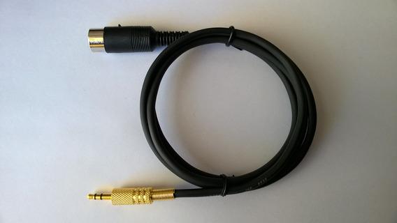 Cabo Din X P2 Estéreo Para Amplificador Aiko Pa-3000