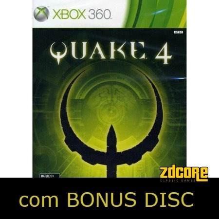 Quake 4 Xbox 360 Original Completo C/ Manual 2 Dvds 2 Jogos