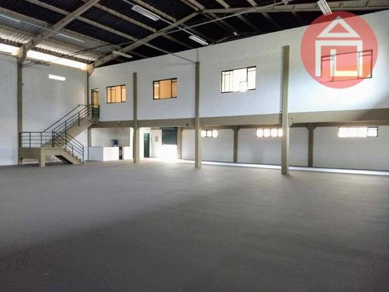 Barracão Para Alugar, 500 M² Por R$ 6.000,00/mês - Parque Dos Estados - Bragança Paulista/sp - Ba0144
