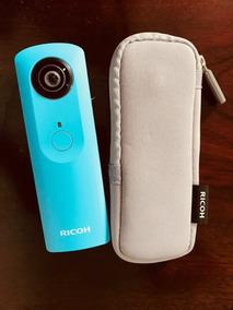Câmera Ricoh Theta 360° Azul