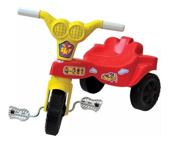 Brinquedo Triciclo Velotrol Infantil Tico Tico - 2 P/compra