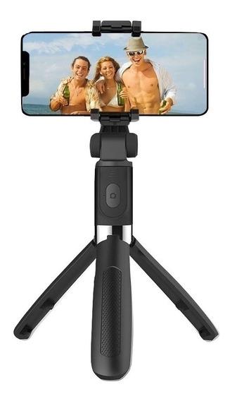 Pau De Selfie E Tripé Bluetooth Similar Ao Xiaomi Ios Andoid