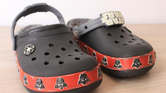 Crocs Star Wars Forrado Tamanho J1 = 32 Brasil