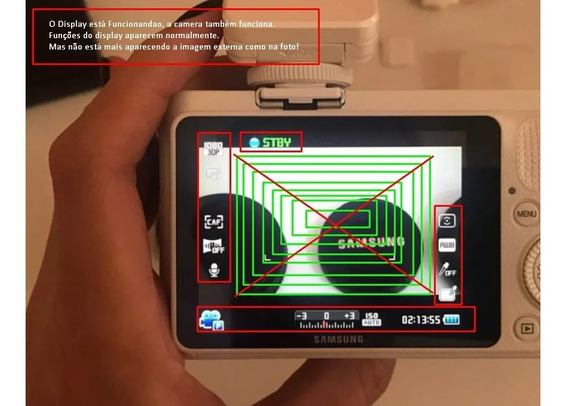 Câmera Digital Nx1000 - Samsung Com Defeito