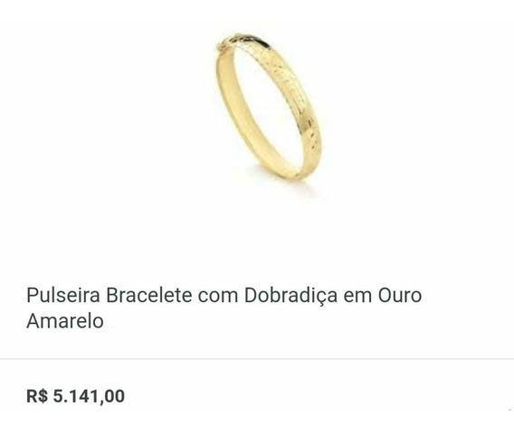 Pulseira E Bracelete Ouro 18k 750