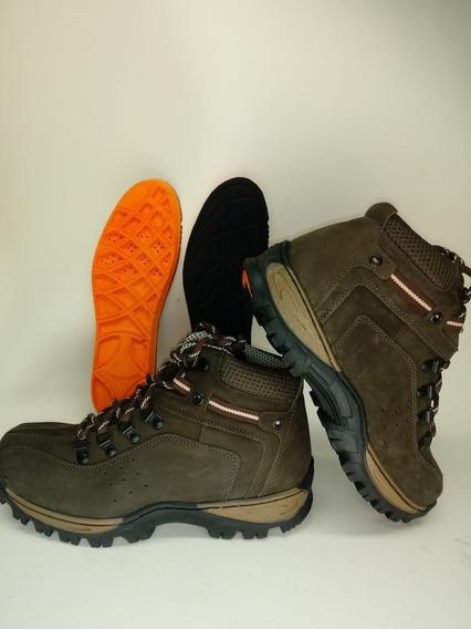 Tênis Boot Adventure Masculino Caminhada Palmilha De Gel