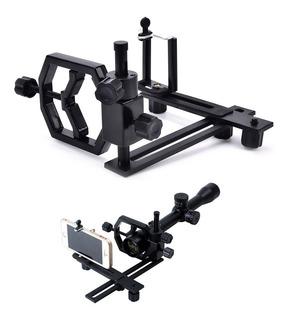 Sideshot Adaptador Celular Para Mira Telescopica Rifle/fusil