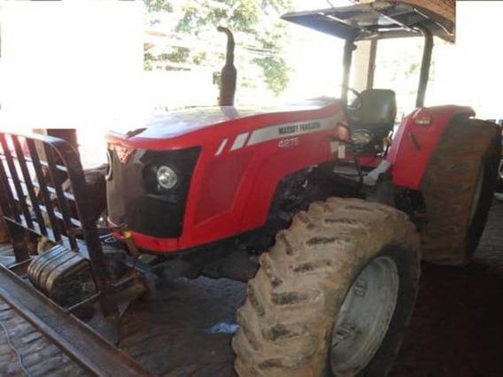Trator 4x4 Massey Ferguson 4275 Ano 2012 Único Dono.
