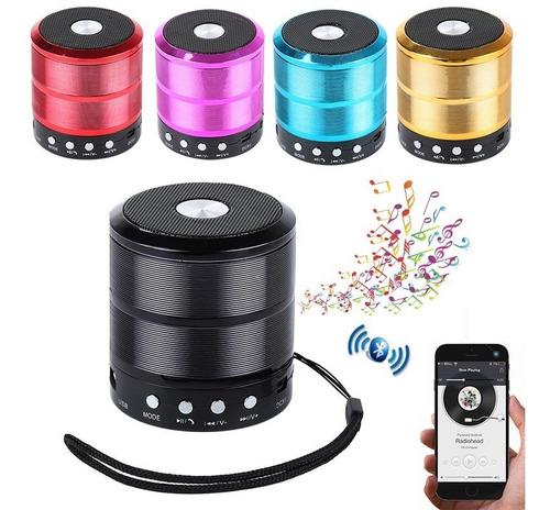 Caixa De Som Portátil Bluetooth Novo Usb Radio Super Potente