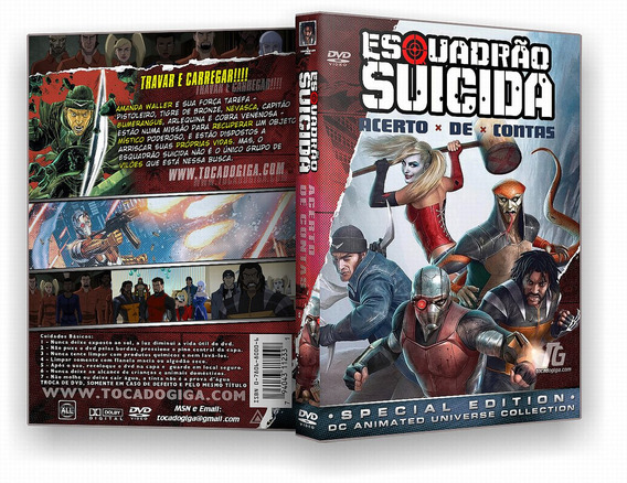 Esquadrão Suicida - Acerto De Contas - Suicide Squad Dvd