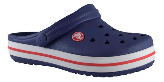 Crocs Crocband Niños Azul Marino / Rojo