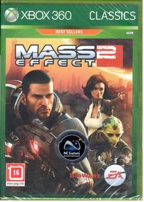 Mass Effect 2 Xbox 360 Mídia Física Lacrado
