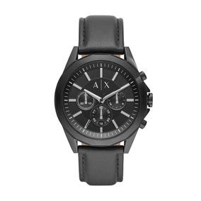 Relógio Masculino Armani Exchange Ax2627/0pn 44mm Couro