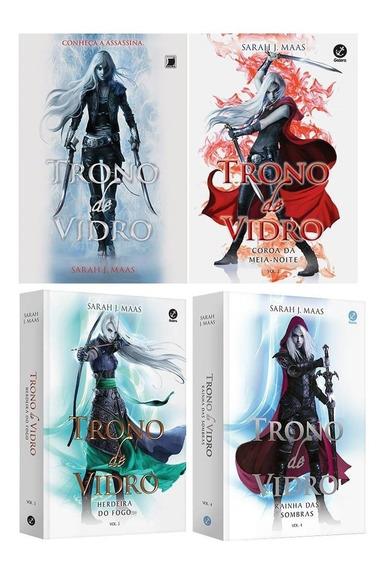 Coleção O Trono De Vidro Completa ( 4 Livros ) Envio Rápido