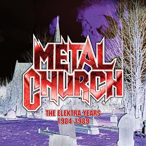 Cd : Metal Church - Elektra Years 1984-1989 (3 Discos)