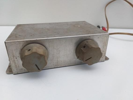Controlador De Som Potenciômetro Caixa Antigo