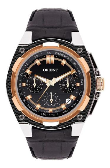 Relógio Orient Mrscc002 Original Masculino Visor Preto