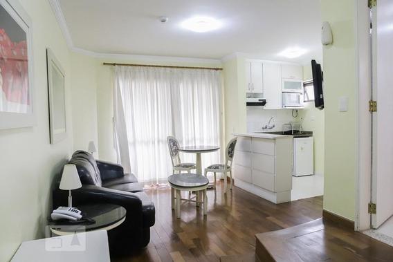 Apartamento No 11º Andar Com 1 Dormitório E 1 Garagem - Id: 892950956 - 250956