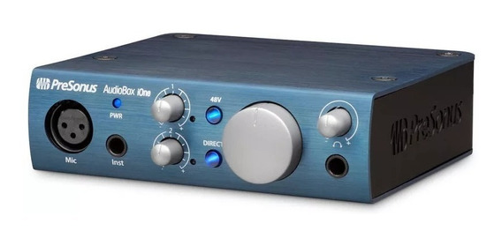 Audiobox Ione Presonus Conexão Usb 2.0 Interface Áudio
