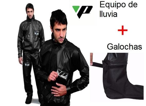 Equipo De Lluvia Moto Pantaneiro Xxl Reforzad+ Galochas