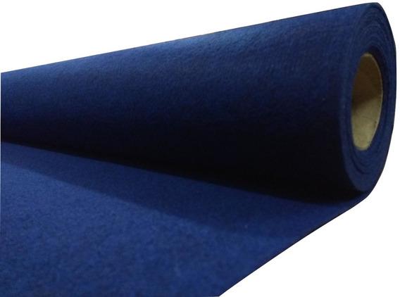 Alfombra Boucle Punzonada Tapizmel Por Rollo 100 M2 Azul
