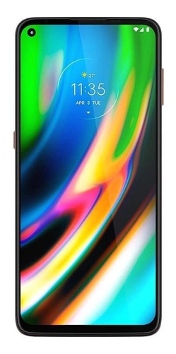 Imagen 1 de 6 de  Moto G9 Plus Dual SIM 128 GB rosa champagne 4 GB RAM